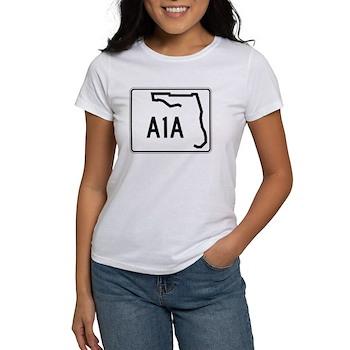 Route A1A, Florida Women's T-Shirt