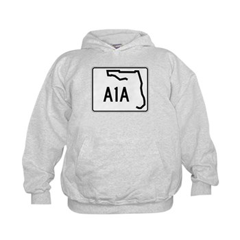 Route A1A, Florida Kids Hoodie