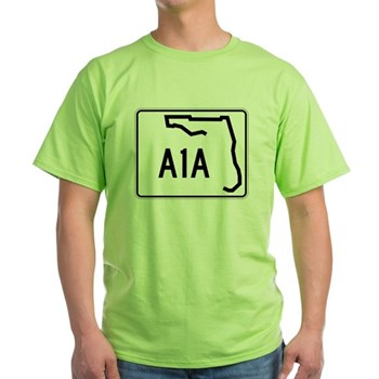 Route A1A, Florida Green T-Shirt