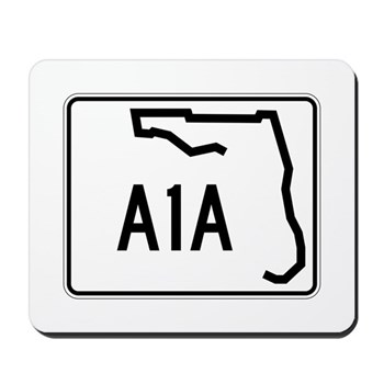 Route A1A, Florida Mousepad
