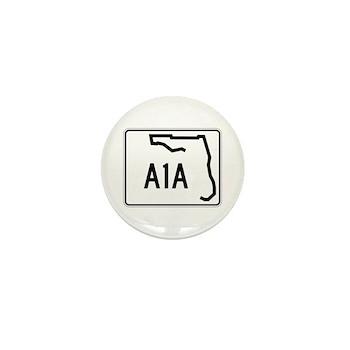 Route A1A, Florida Mini Button (100 pack)