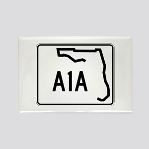 Route A1A, Florida Rectangle Magnet