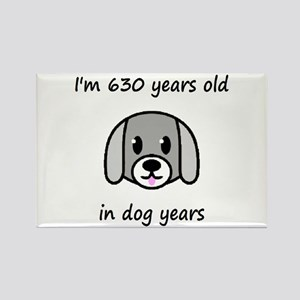 90 dog years 2 - 2 Magnets