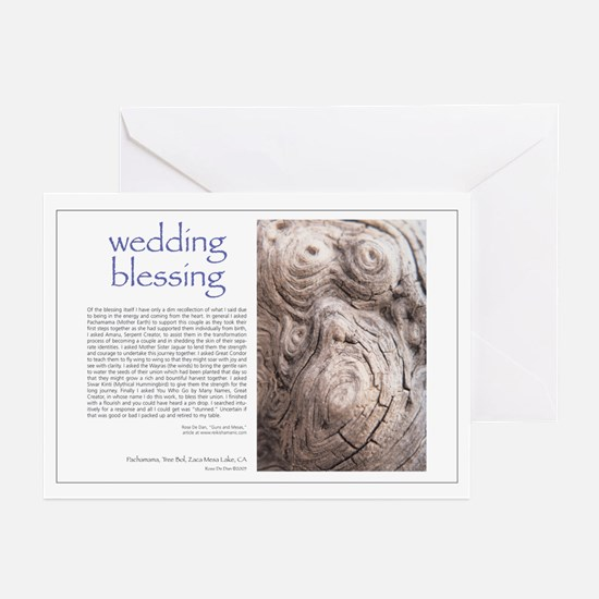 Wedding Blessing Greeting Cards (Pk of 10)