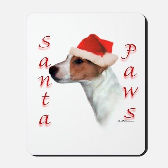 Santa Paws Jack Russell Mousepad