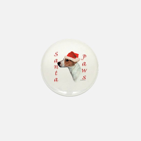 Santa Paws Jack Russell Mini Button