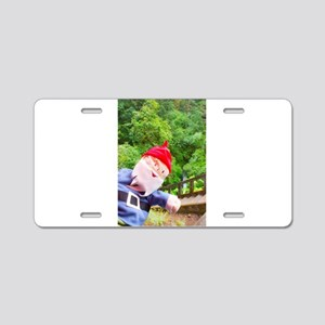 Forest Stairs Gus Aluminum License Plate
