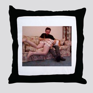 Cookie's Hot Seat Throw Pillow