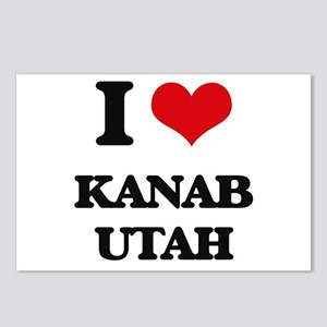 I love Kanab Utah Postcards (Package of 8)