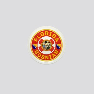 Florida Bosnian American Mini Button
