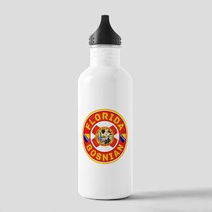 Florida Bosnian American Water Bottle