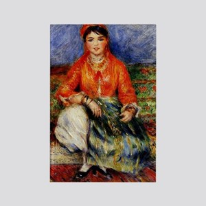 Renoir - Algerian Girl Rectangle Magnet