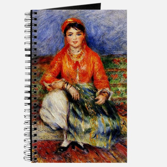 Renoir - Algerian Girl Journal