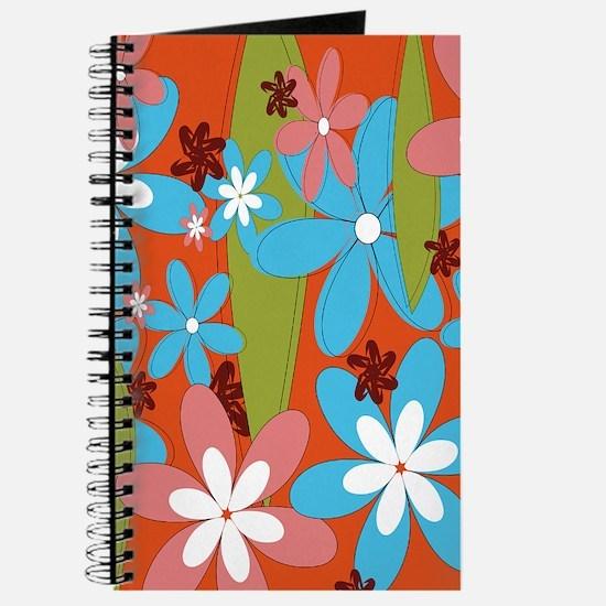 Hippie Flower Power Journal