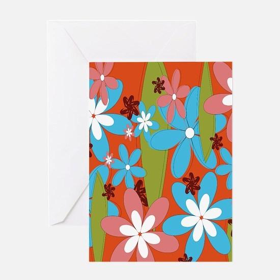 Hippie Flower Power Greeting Cards