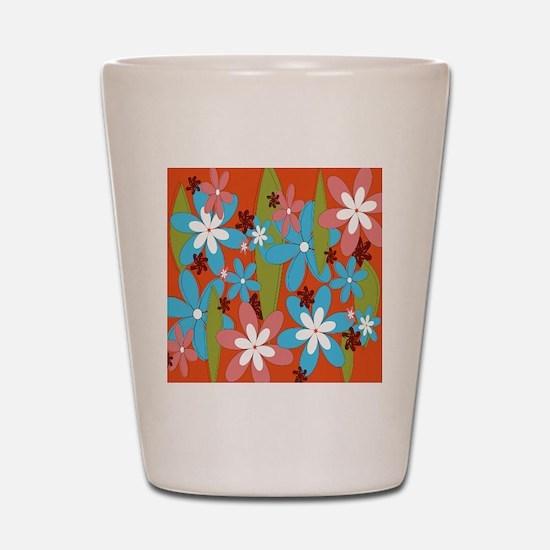 Hippie Flower Power Shot Glass