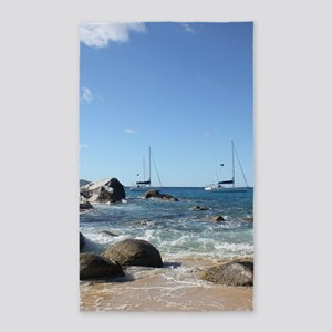 BVI Sailing Boats Area Rug