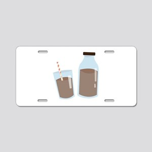 Chocolate Milk Aluminum License Plate