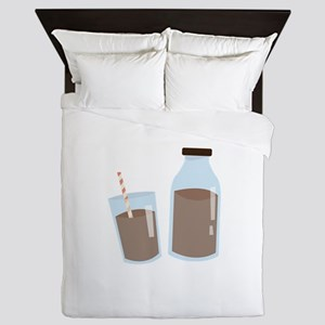 Chocolate Milk Queen Duvet