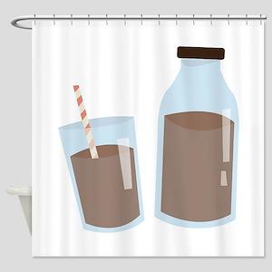 Chocolate Milk Shower Curtain