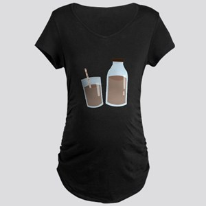Chocolate Milk Maternity T-Shirt