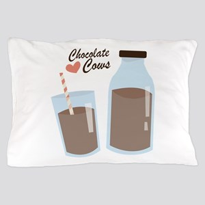 Chocolate Cows Pillow Case