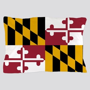 Flag of Maryland Pillow Case