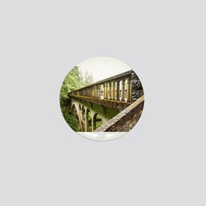 Forest Bridge Mini Button