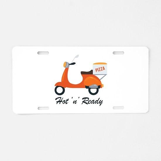 Hot N Ready Aluminum License Plate
