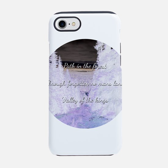 Path in the forest iPhone 7 Tough Case