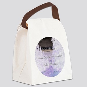 Path in the forest Canvas Lunch Bag