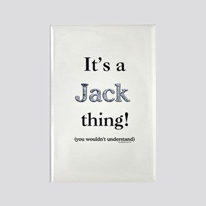 Jack Thing Rectangle Magnet