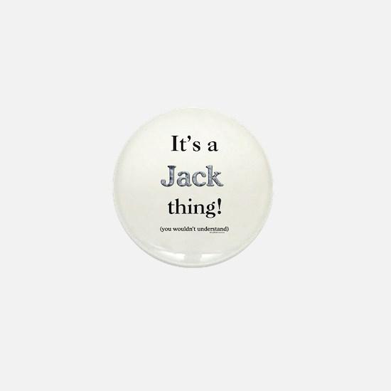 Jack Thing Mini Button