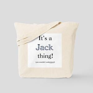 Jack Thing Tote Bag