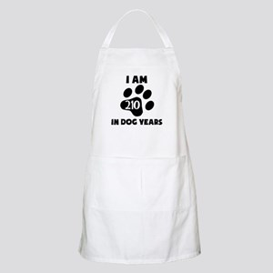 30th Birthday Dog Years Apron