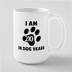 30th Birthday Dog Years Mugs