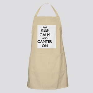 Keep Calm and Canter ON Apron