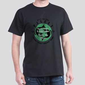 Custom Text Pisces Horoscope Zodiac Sign T-Shirt