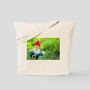 Quiet Creek Gnome Tote Bag