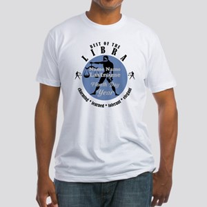Custom Text Libra Horoscope Zodiac Sign T-Shirt