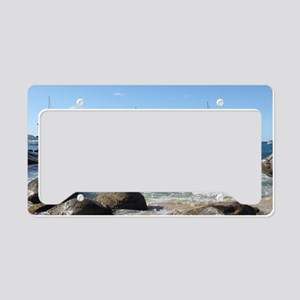 BVI Sailing Boats License Plate Holder