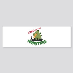 King of the Monsters Bumper Sticker