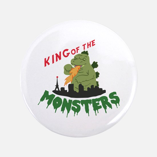 "King of the Monsters 3.5"" Button"