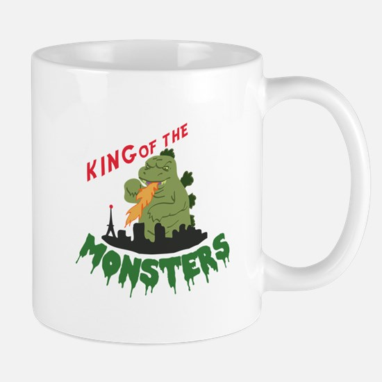 King of the Monsters Mugs