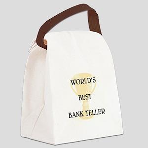 BANK TELLER Canvas Lunch Bag