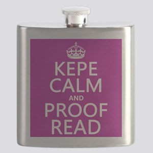 Keep Calm and Proof Read (with errors) Flask