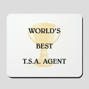 T.S.A. AGENT Mousepad