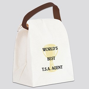T.S.A. AGENT Canvas Lunch Bag