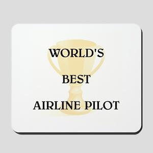 AIRLINE PILOT Mousepad