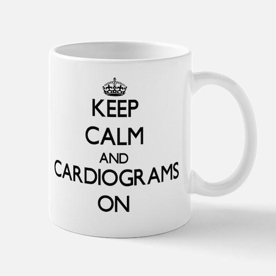 Keep Calm and Cardiograms ON Mug
